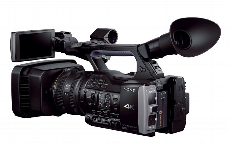 sony fdr ax1 4k pro camera 4500 personal view talks. Black Bedroom Furniture Sets. Home Design Ideas