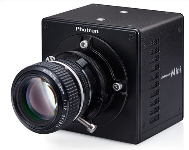 it is light weight high speed camera with 1280 x 1000 resolution at a frame rate of 5000fps with a resolution of 640 x 480 pixels it can take images at
