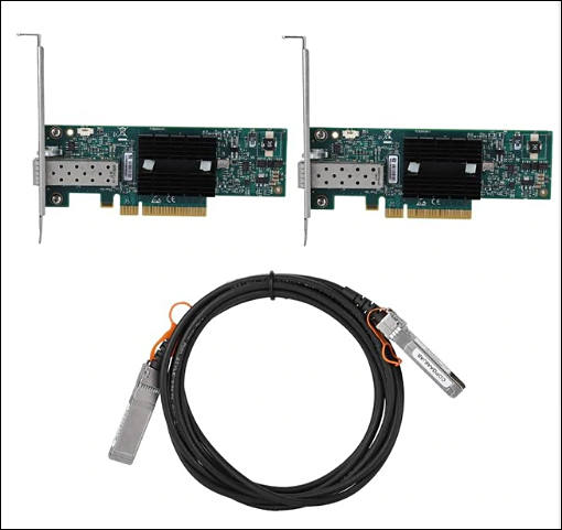 Making 10Gbit Network using SFP+ Adapters, for cheap