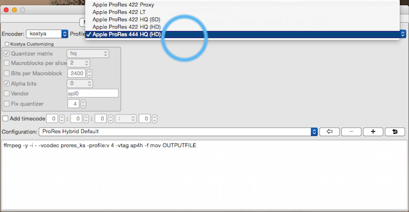 4K 8bit 4:2:0 on the Panasonic GH4 converts to 1080p 10bit 4:4:4