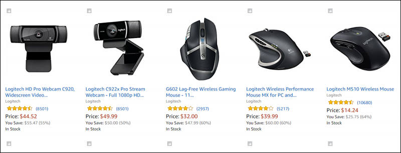 Logitech Deals - Good Mouse and Web Cameras - Personal View Talks