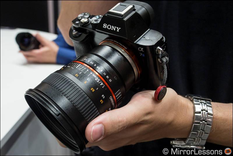 50mm T1 5 F1 4 Samyang Rokinon Bower Cine Lens Announced